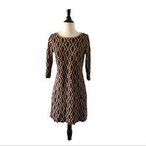 Boden Knit Brown Sweater Tunic